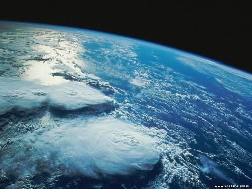 Фото Земли с орбиты
